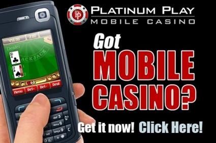Platinum Play Mobile Phone Casino